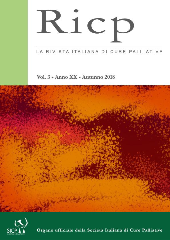 2018 Vol. 20 N. 3 Luglio-Settembre
